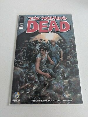 The Walking Dead #1 - Clayton Crain Variant - Wizard World Minneapolis - Wizard World Minneapolis
