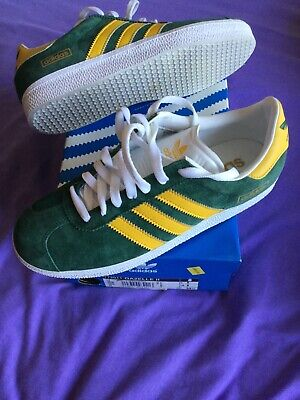 Vintage adidas Gazelle II - BNIB - UK6 - green/yellow