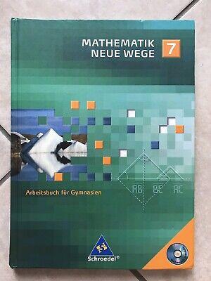 Mathematik Neue Wege 7-Arbeitsbuch-Schüler Lehr Buch Gymnasium-Schroedel-gebunde