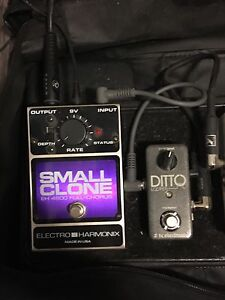 Dito Looper and Son of Hyde distortion pedals