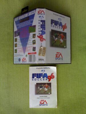 Caja y Manual FIFA SOCCER 96 (EA Sports) Sega Mega Drive Megadrive Pal Esp, used for sale  Shipping to Nigeria