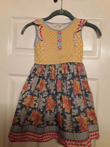 MATILDA JANE DRESS SIZE 6 PREOWNED