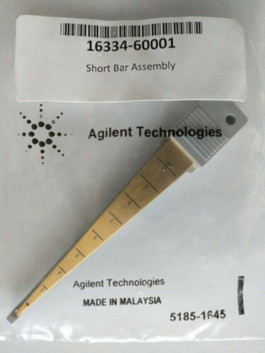Agilent Short Bar Assembly for 16334A Test Fixture LCR Meter