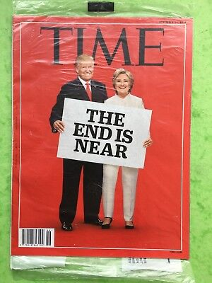 TIME Magazine - SEALED COPY - November 14th 2016 - Donald Trump, The End Is Near