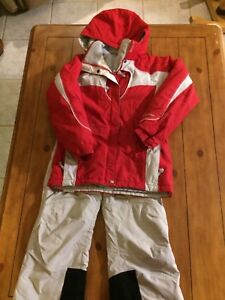 Columbia snow suit youth size 10/12
