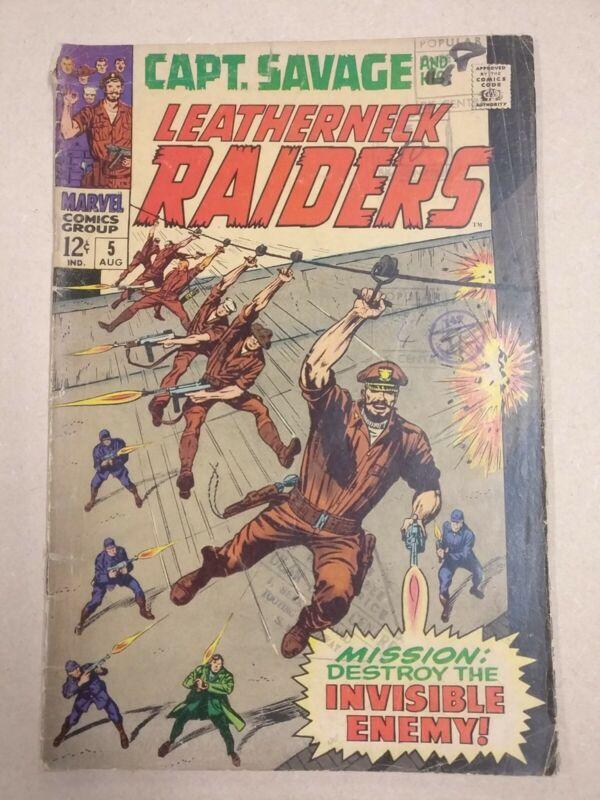 Capt. Savage And His Leatherneck Raiders 5 (1968)