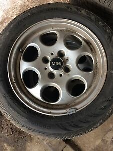 Mini Cooper rims and summer tires