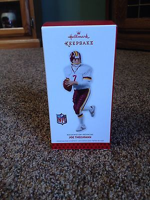 2013 Hallmark Keepsake Joe Theismann Ornament Washington Redskins NIB