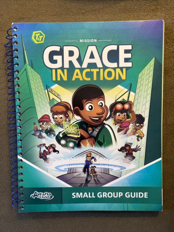 Awana Clubs Mission Grace In Action ESV 2020 Small Group Guidebook Bible Book