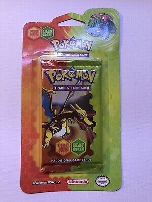 Pokémon EX Series Fire Red Leaf Green Blister Pack CHARIZARD Art (Unweighed)