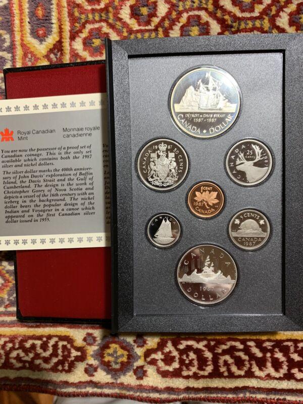1987- Canadian Mint Proof Set