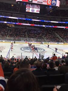 Oilers Center Ice Club Seats Available for Upcoming Games!