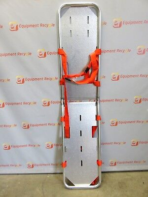 Junkin Emergency Aluminum Collapsible Stretcher Medic Backboard Folding Spine