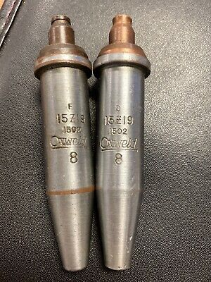 2 Oxweld Torch Cutting Tip Style 1502 Number 8