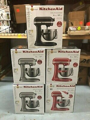 KitchenAid Professional 600 Series 6 quart Bowl-Lift Stand Mixer *3 COLORS* NEW