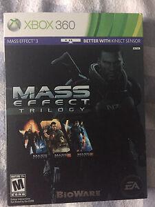 Mass Effect Trilogy perfect conditjon