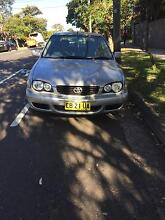 2001 Toyota Corolla Hatchback Chatswood Willoughby Area Preview
