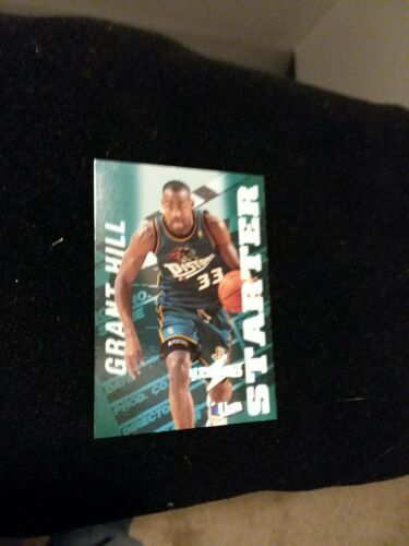 Grant Hill 97 98 Fleer Ultrabillites 10 Of 20 - $8.00