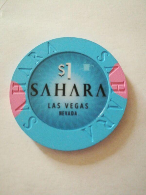 Sahara (New) Las Vegas $1 Chip