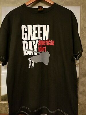 Green Day American Idiot Tshirt black XL 2005