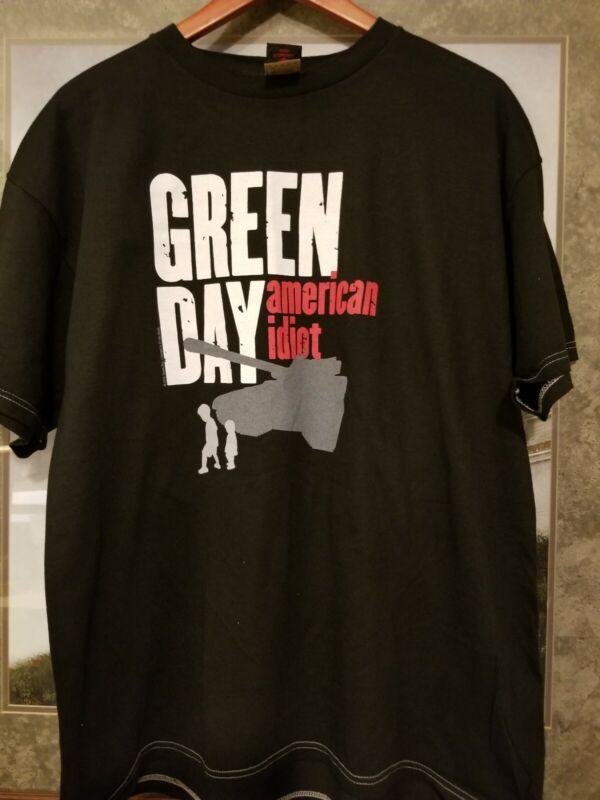 Green Day American Idiot Tshirt black XL 2005
