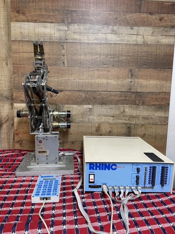 Rhino XR-3 Series Robotic Arm w/ Mark IV Controller Mark IV Pendant Remote Set