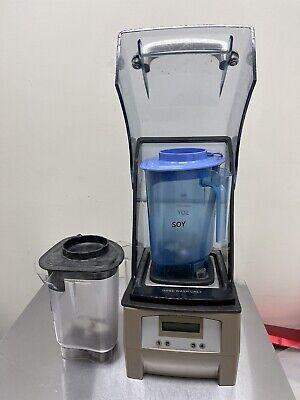 Starbucks Vitamix Commercial Countertop Blender The Quiet One 120v W 3 Jarslid