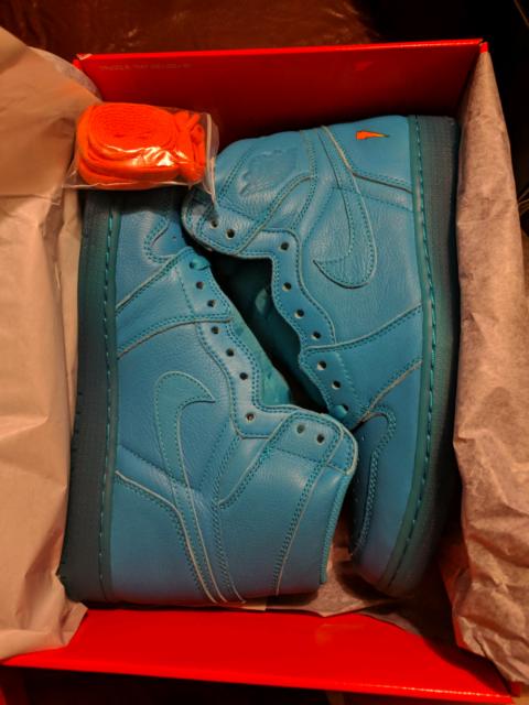 Jordan 1 Gatorade blue lagoon. US11  4e8dea2af