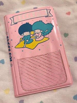 Vintage Sanrio Little Twin Stars 1976 Phone Pal Mini Book