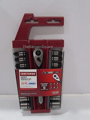 Craftsman 19 pc. Universal 1/4-in. Dr. Socket Wrench Set