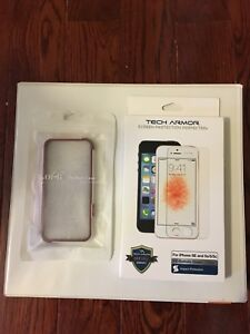 iPhone 5 screen protector and Case