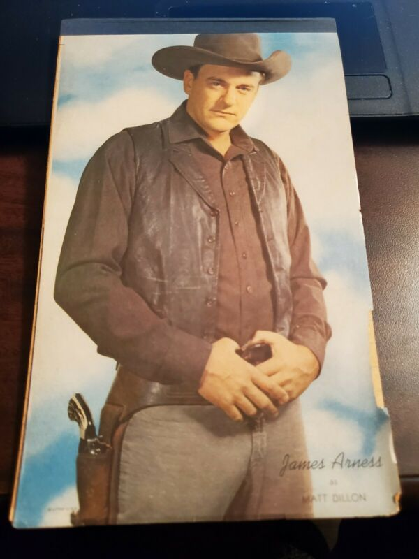 VTG JAMES ARNESS MATT DILLON GUNSMOKE NOTEBOOK