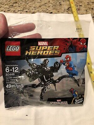 Lego Marvel Super Heroes Spider-Man vs Venom Symbiote 30448 New & Polybag Sealed