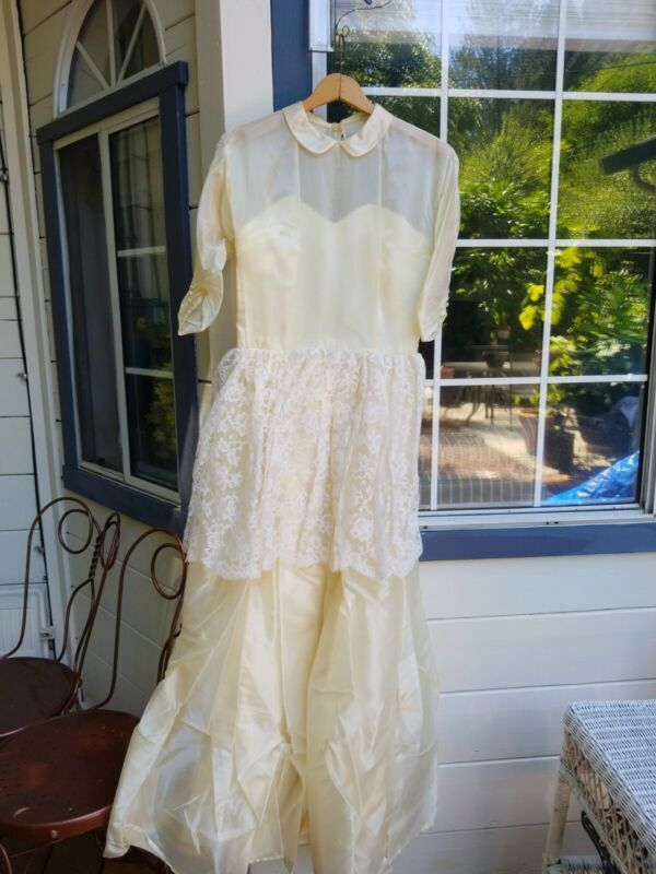 Vintage Wedding Dress 1940