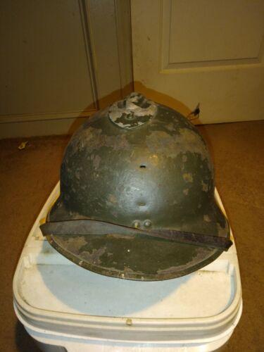 ORIGINAL WWII FRENCH M26 HELMET w/  LINER ???