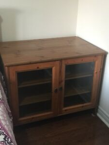 IKEA TV console with storage