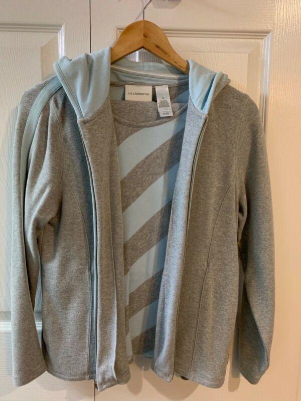 Liz Claybourn women's 3 piece capri outfit size M
