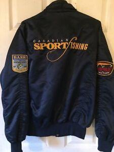 Canada sport fishing jacket med