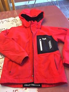 HH Boys Orange and BLK winter coat Sz L