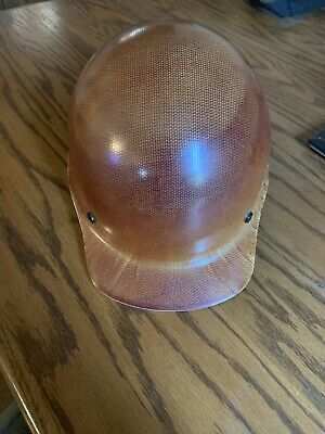 Msa Safety 475395 Skullgard Cap Hard Hat With Fast Track Ratchet Suspension New