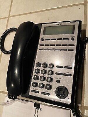 Nec Sl2100 Phone Ip7ww-12txh-b1 Telbk C Black Grey Phone Only