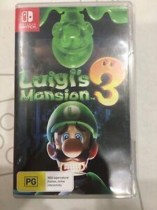 Luigi's manision 3 Nintendo switch