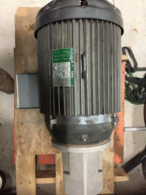 Lincoln Electric 20 hp electric motor 230/460 volts 3 phase. never used