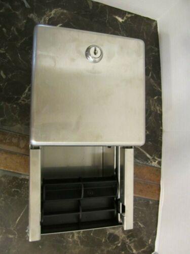 Bobrick SS 11UBM B2888 Toilet Paper Dispenser with Key