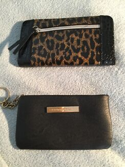 Bluebird Leopard Print Wallet and Colette Hayman Coin Purse