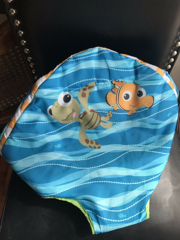 Disney Bright Starts Nemo Sea Activities Jumperoo Seat Cover Replacement Part