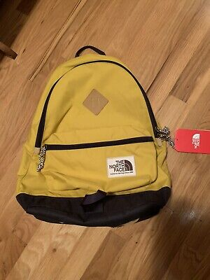 Brand New The North Face Berkeley Backpack Leopard Yellow 25L northface rare