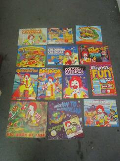 13 X McDonalds Calendars From Various Years (Mainly 90's)