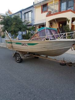 4.2M Alloy Run About Boat