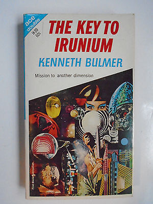 The Key To Irunium   Bulmer  The Wandering Tellurian   Schwartz  Ace Double 1967